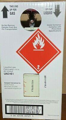 1234yf Honeywell refrigerant 10 lb. BRAND NEW FREE SAME DAY SHIPPING BY 3PM