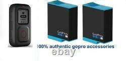 2x GoPro BATTERY ADBAT-001 + GOPRO REMOTE FOR GOPRO HERO9 BLACK SAME DAY SHIP