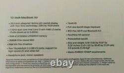 Apple MacBook Air 13.3 MWTJ2LL/A 256GB 8GB Laptop 2020 Space Gray SAME DAY SHIP