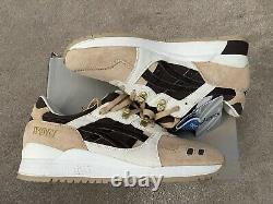 Asics x WOEI Gel Lyte 3 III Cervidae US 10 DS Brand New SAME DAY SHIPPING