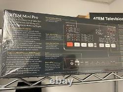 BlackMagic ATEM Mini PRO Live Production Switcher Ships same day as order