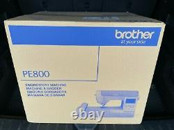 Brother PE800 5x7 Embroidery Machine White Brand New Ship Same Day