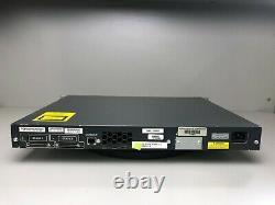 Cisco WS-C3750G-24TS-S1U 24 Port 3750G Gigabit Switch SAME DAY SHIPPING