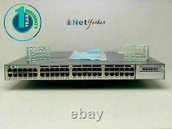Cisco WS-C3750X-48P-S 48 Port PoE 3750X Gigabit Switch SAME DAY SHIPPING