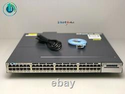 Cisco WS-C3750X-48PF-S 48 Port PoE 3750X Gigabit Switch SAME DAY SHIPPING