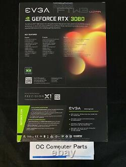 EVGA GeForce RTX 3080 FTW3 ULTRA 10GB GDDR6X Graphics Card SAME DAY SHIPPING