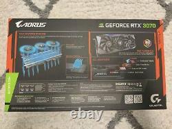 Gigabyte Aorus Geforce RTX 3070 Master 8GB Graphics Card SEALED SAME DAY SHIP