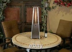 Hiland Portable Pyramid Patio TableTop Propane Heater 9500 BTU SAME DAY SHIPPING
