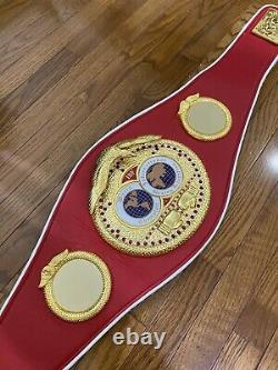 IBF Boxing Championship Belt Adult Size Replica (Same Day Shipping)