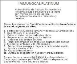 Immunocal Platinum (2 Boxes) Glutathione Precursor. Free Same Day Shipping