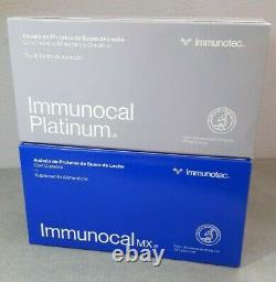 Immunocal Platinum + Immunocal Classic Bundle. Free Same Day Shipping