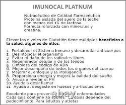 Imunocal Platnum (2 Boxes) Glutathion Precursor. Same Day Free Shipping