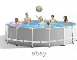 Intex 15ft x 48in Prism Above Ground Swimming Pool Set FREE SAME DAY SHIPPING