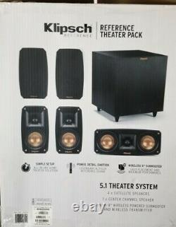 Klipsch Reference Theater Pack 5.1 Surround System-Same Day shipping