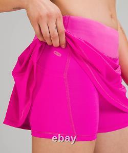 Lululemon Pace Rival Skirt Regular Pow Pink 4 6 8 Free Same Day Usps Ship