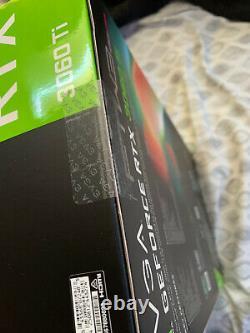 NEW EVGA GeForce RTX 3060 Ti FTW3 ULTRA GAMING 8GB GDDR6 LHRShips Same Day