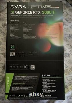 NEW EVGA GeForce RTX 3060 Ti FTW3 ULTRA GAMING 8GB GDDR6Ships Same Day