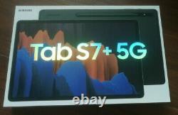 NEW SAMSUNG Galaxy Tab S7+ Plus 5G 12.4 128GB T-Mobile SM-T978U SAME DAY SHIP
