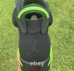 Nike Air Jordan 6 Retro Electric Green Size 11 FREE SHIPPING! SHIPS SAMEDAY