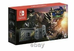Nintendo Switch Console Monster Hunter Rise Edition New Same Day Ship