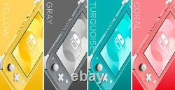 Nintendo Switch Lite Console YellowithGrey/Pink/Teal Brand New Same Day Shipping