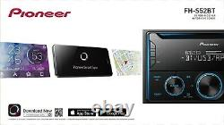 Pioneer FH-S52BT Double 2 DIN CD MP3 Bluetooth IN HAND FREE SAME DAY SHIPPING