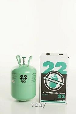 R22 10 lb. Brand new refrigerant factory sealed FREE SAME DAY SHIPPING