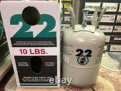 R22, r-22, Refrigerant 22, 10 Lb, Factory Sealed, Same Day Fast Shipping withUPS