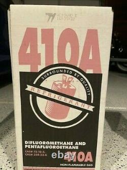 R410A Refrigerant 25 LB. FACTORY SEALED VIRGIN FREE SAME DAY Shipping by 3pm