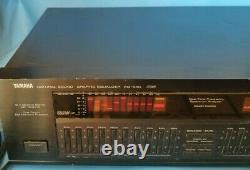 -RARE-Yamaha Mod. EQ-630 Natural Sound Graphic Equalizer SAME DAY SHIPPING