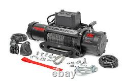Rough Country Pro Series 9500 winch with Synthetic Line, PRO9500S, SAME DAY SHIP