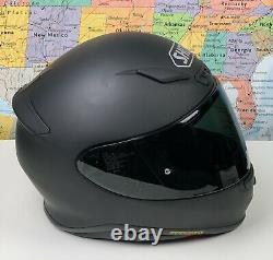 SHIPS SAME DAY Shoei RF-1200 Motorcycle Helmet Matte Black Size Small Rare