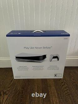 Sony PlayStation 5 Console Factory Sealed Disc Edition Ships SAME DAY