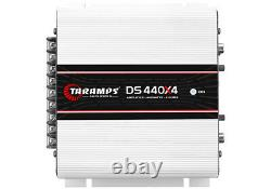TARAMPS DS440x4 2 OHM Class D 4 CHANNEL AMP + SHIPS SAME DAY FROM OHIO