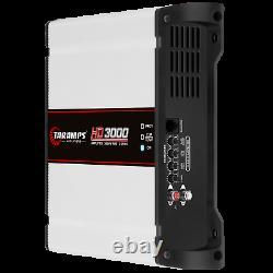 TARAMPS HD3000 2 OHMs 3000W AMPLIFIER USA DEALER SAME DAY SHIPPING