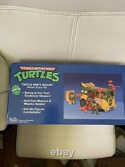 TMNT Original Party Wagon Playmates 2021 New releaseship same day