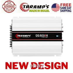 Taramps DS800X4 2 OHMS 800W AMPLIFIER USA DEALER SAME DAY SHIPPING