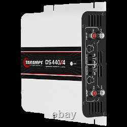 Taramps Ds 440x4 Amplifier 440w Rms USA Dealer Same Day Shipping