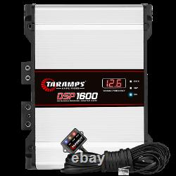 Taramps Dsp1600 1 Ohm 1600 Watts Amplifier USA Dealer Same Day Shipping