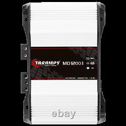 Taramps MD 1200.1 Amplifier 1 Ohm 1200w Rms USA Dealer Same Day Shipping