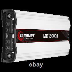 Taramps MD 12000 0.5 Ohm 12000 Watts Amplifier USA Dealer Same Day Shipping