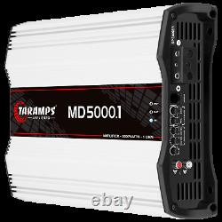 Taramps MD 5000.1 Amplifier 1 Ohm 5000w Rms USA Dealer Same Day Shipping