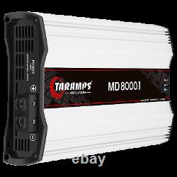Taramps MD 8000.1 Amplifier 2 Ohms 8000w Rms USA Dealer Same Day Shipping