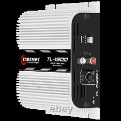 Taramps Tl 1500 Amplifier 3ch 2-4ohms 390w Rms USA Dealer Same Day Shipping