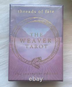 Threads Of Fate Tarot -The Weaver Journeyer Edition HTF FAST Same-Day Shipping