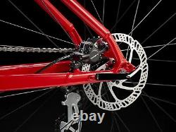 Trek Marlin 5 fire Red Same Day Shipping With Rear LED Light Gift