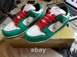 Warren Lotas Dunk Jason Toxic Green Heineken Size 9 IN HAND & SHIPS SAME DAY