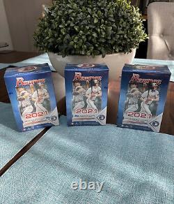 2021 Topps Bowman Baseball Value Box Lot Of 3 Meme Day Livraison