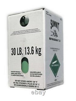 30 Lb Lb R22 Refrigerant Factory Scellé Et Fabriqué Aux États-unis Same Day Shipping