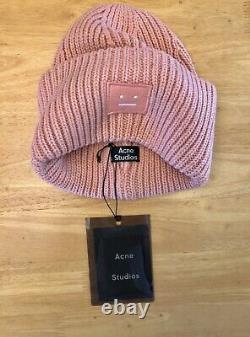 Acne Studios Beanie Pink Expédie Le Même Jour
